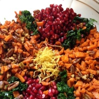 beautiful kale salad